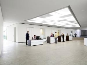 Acrysign Volksbank Lichtdecke