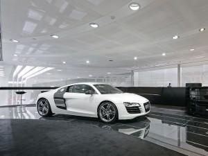 Acrysign Audi Bodenbelag