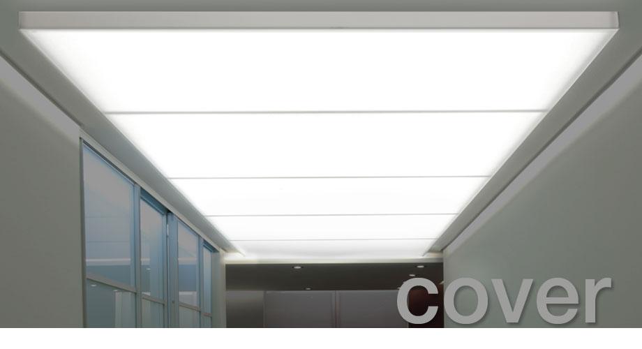 Extrem Designpanel - Lightpanel cover, LED-Flächenlicht mit Acrylglas-Haube OG77